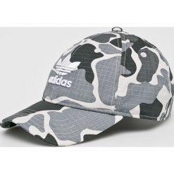 Adidas Originals - Czapka. Szare czapki z daszkiem męskie adidas Originals. W wyprzedaży za 79,90 zł.