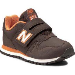 Trampki chłopięce: Sneakersy NEW BALANCE – KV373BOY Brązowy