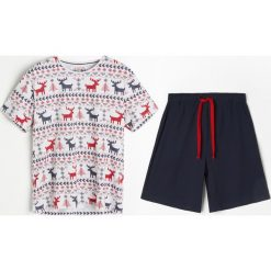 Piżama - Granatowy. Niebieskie piżamy męskie Reserved, l. Za 79,99 zł.