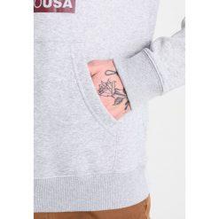 Bejsbolówki męskie: DC Shoes ATTITUDE  Bluza z kapturem grey