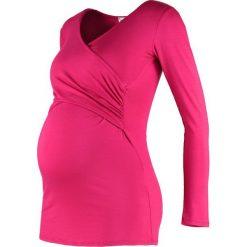 Bluzki asymetryczne: Envie de Fraise FIONA  Bluzka z długim rękawem raspberry
