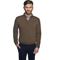 Sweter onley troyer brąz. Szare swetry klasyczne męskie Recman, m, z kołnierzem typu troyer. Za 249,00 zł.
