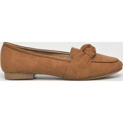 Answear - Baleriny Lily Shoes. Szare baleriny damskie marki ANSWEAR, z gumy. W wyprzedaży za 59,90 zł.