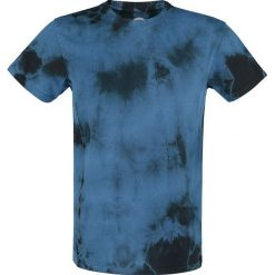 T-shirty męskie: RED by EMP Batik T- Shirt T-Shirt niebieski/czarny