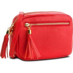 Torebka CREOLE - K10541 Czerwony. Czerwone listonoszki damskie Creole, ze skóry. Za 129,00 zł.