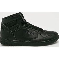 Fila - Buty. Czarne buty skate męskie Fila, z materiału, na sznurówki. Za 299,90 zł.