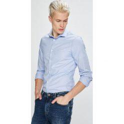 Guess Jeans - Koszula Almeda. Szare koszule męskie jeansowe marki Guess Jeans, l, z aplikacjami. Za 319,90 zł.