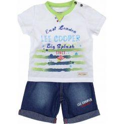 T-shirty chłopięce z nadrukiem: 2-częściowy zestaw w kolorze biało-niebiesko-zielonym