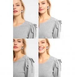 Sweter z wiązaniem na ramieniu. Brązowe swetry klasyczne damskie marki Orsay, s, z dzianiny. Za 99,99 zł.