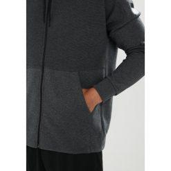 Adidas Performance Bluza rozpinana darkgreyheather. Szare bluzy męskie rozpinane marki adidas Performance, m, z bawełny. W wyprzedaży za 233,35 zł.
