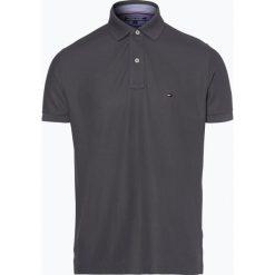 Tommy Hilfiger - Męska koszulka polo, szary. Szare koszulki polo marki TOMMY HILFIGER, z bawełny. Za 299,95 zł.