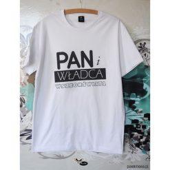 Koszulki męskie: Pan i władca wszechświata, t-shirt dla niego