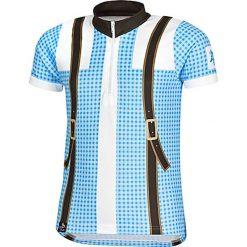 T-shirty chłopięce z krótkim rękawem: Koszulka kolarska w kolorze błękitnym