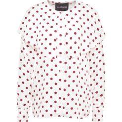 DESIGNERS REMIX KEVIN  Bluzka cream/burgundy. Białe bralety marki DESIGNERS REMIX, z elastanu, polo. Za 719,00 zł.