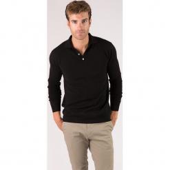 Sweter kaszmirowy w kolorze czarnym. Czarne swetry klasyczne męskie marki Just Cashmere, m, z kaszmiru, z klasycznym kołnierzykiem. W wyprzedaży za 326,95 zł.