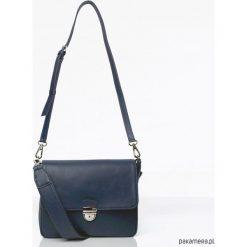 Torebki klasyczne damskie: FLAP BAG Navy Blue