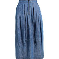 GStar HA PARACHUTE SKIRT Długa spódnica blue. Niebieskie długie spódnice G-Star, m, z bawełny. W wyprzedaży za 351,75 zł.