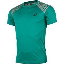 Koszulka do biegania męska ASICS FUZEX TEE / 141238-5007. Zielone koszulki do biegania męskie Asics, m, z nadrukiem. Za 79,00 zł.