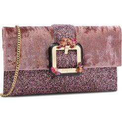 Torebka PATRIZIA PEPE - 2V8211/A4N8-XS88 Velvet/Glitterrose. Czarne torebki klasyczne damskie marki Patrizia Pepe, ze skóry. W wyprzedaży za 969,00 zł.