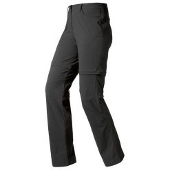 Odlo Spodnie damskie Zip-off Topaz czarne r. 42 (522981/15000/42). Czarne spodnie sportowe damskie marki Odlo. Za 144,20 zł.
