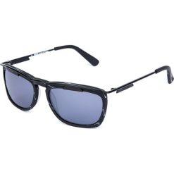 """Okulary przeciwsłoneczne męskie: Okulary przeciwsłoneczne """"KZDAH140101"""" w kolorze czarnym"""