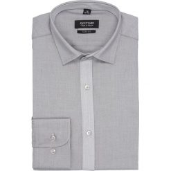 Koszula bexley 26311 długi rękaw slim fit szary. Szare koszule męskie slim marki Recman, na lato, l, w kratkę, button down, z krótkim rękawem. Za 149,00 zł.