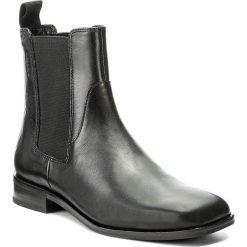 Sztyblety VAGABOND - Cora 4400-001-20 Black. Czarne botki damskie na obcasie Vagabond, z materiału. W wyprzedaży za 349,00 zł.