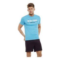 Piżama East 35734-50X Turkusowo-granatowa. Niebieskie piżamy męskie Henderson, m, z bawełny. Za 83,90 zł.