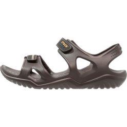 Crocs SWIFTWATER RIVER  Sandały kąpielowe espresso/black. Brązowe kąpielówki męskie marki Crocs, m, z gumy. Za 169,00 zł.