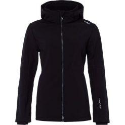 CMP WOMAN JACKET ZIP HOOD Kurtka Softshell black. Czerwone kurtki sportowe damskie marki CMP, z materiału. W wyprzedaży za 350,10 zł.