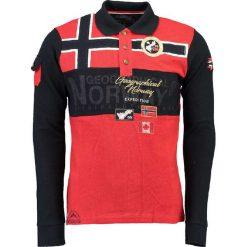 """Koszulki polo: Koszulka polo """"Karadock"""" w kolorze czerwono-czarnym"""