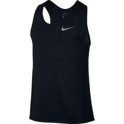 Koszulka do biegania męska NIKE DRI-FIT MILER TANK / 833589-010 - NIKE DRI-FIT MILER TANK. Czarne koszulki sportowe męskie marki Nike, m. Za 89,00 zł.