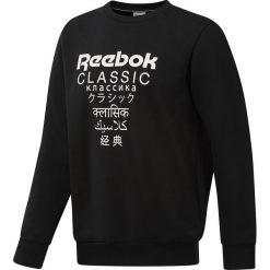 Bluza Reebok GP Unisex Fleece CR (DJ1891). Czarne bluzy męskie marki Reebok, m, z bawełny. Za 199,99 zł.