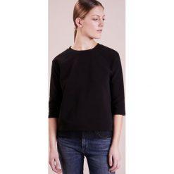 Bluzki asymetryczne: BOSS CASUAL TACUBA Bluzka z długim rękawem black