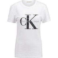 Calvin Klein Jeans Tshirt z nadrukiem bright white. Czarne t-shirty męskie marki Calvin Klein Jeans, z bawełny. Za 219,00 zł.