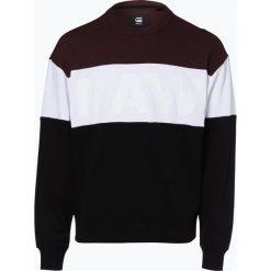G-Star - Męska bluza nierozpinana – Libe Stor, czarny. Czarne bluzy męskie rozpinane marki G-Star, m, z napisami. Za 229,95 zł.