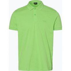Koszulki polo: BOSS Athleisure – Męska koszulka polo – Piro, zielony