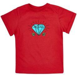 Garnamama Koszulka Chłopięca 104 Czerwony. Czerwone t-shirty chłopięce Garnamama, z bawełny. Za 42,00 zł.