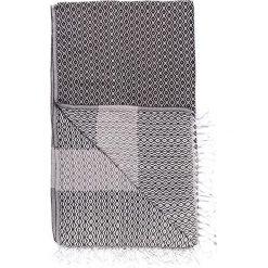 Chusta hammam w kolorze antracytowo-szarym - 180 x 95 cm. Czarne chusty damskie marki Hamamtowels, z bawełny. W wyprzedaży za 43,95 zł.