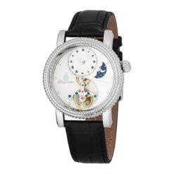 """Zegarki męskie: Zegarek """"High Point' w kolorze czarno-srebrno-białym"""