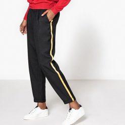 Spodnie dresowe damskie: Spodnie dresowe z kontrastowymi paskami