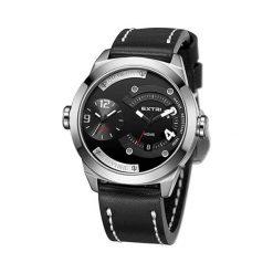 """Zegarki męskie: Zegarek """"X3015B"""" w kolorze czarno-srebrnym"""