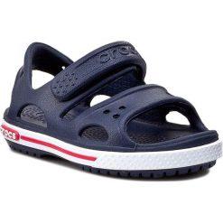 Sandały CROCS - Crocband II Sandal 14854 Navy/White. Niebieskie sandały chłopięce Crocs, z tworzywa sztucznego. Za 129,00 zł.
