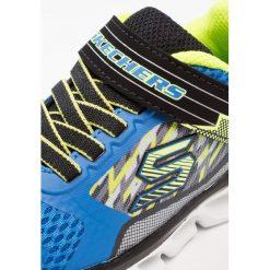 Skechers HYPNOFLASH Tenisówki i Trampki blue/black/lime. Zielone tenisówki męskie marki Skechers, z materiału. Za 219,00 zł.