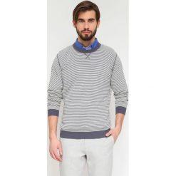SWETER DŁUGI RĘKAW MĘSKI. Szare swetry klasyczne męskie Top Secret, m, z dzianiny, z golfem. Za 29,99 zł.