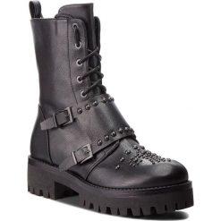 Trapery POLLINI - SA24015G16TR0000 Nero. Czarne buty zimowe damskie Pollini, ze skóry ekologicznej. W wyprzedaży za 1159,00 zł.