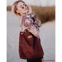 Torba worek Mili Chic MC5 - burgund. Czerwone torebki klasyczne damskie Pakamera. Za 189,00 zł.