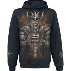 Spiral Viking Warrior Bluza z kapturem czarny. Czarne bejsbolówki męskie Spiral, xxl, z nadrukiem, z kapturem. Za 121,90 zł.