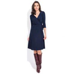 Fille Du Couturier Sukienka Damska Estelle 36 Ciemnoniebieski. Czarne sukienki z falbanami Fille Du Couturier. Za 229,00 zł.