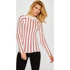Calvin Klein - Sweter. Szare swetry klasyczne damskie Calvin Klein, l, z dzianiny. W wyprzedaży za 499,90 zł.
